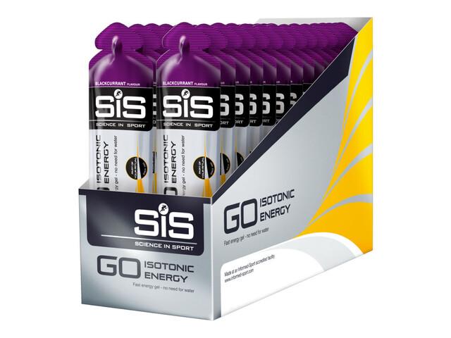 SiS GO Isotonic Gel Schwarze Johannisbeere 60ml 30-Pack